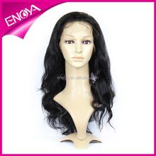 long body wave Brazilian human hair silk base skin top full lace wigs