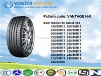 WH16 185/55R15 winda pcr chinese radial UHP car tyre