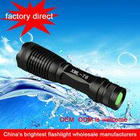 2015 hot selling CREE XM-L T6 zoom led hunting flashlight