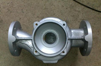 grey cast iron resin sand casting pump body