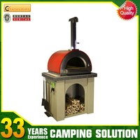 Indoor Stainless Steel Wood Burning Pizza Oven