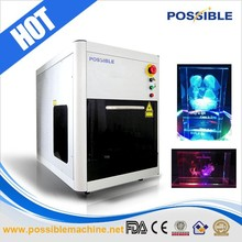 Factory price China manufacturer 3d photo crystal marking machine with low cost