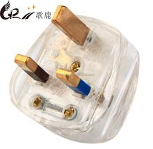 UK 3 pins eletrical fused plug