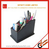 Household used plastic fabric file storage box pen holder