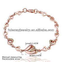 Pulsera oro rosa para mujeres hechas a mano