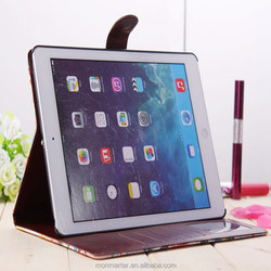 Wholse PU leather case for iPad 5 air,protective containment for iPad 5 air 2/3/4/5