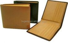 "PU leather/ genuine leather Men""s fashion wallet/purse"