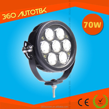 Led 70w Led Work Light,12/24v Driving On Truck,Jeep,Atv,4wd,Boat,Mining C ree Led Driving Light