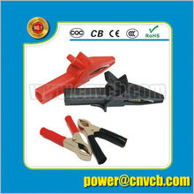 insulated crocodile clips for China Large carbon steel car Alligator Clips