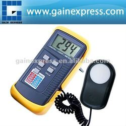 Deluxe Portable Digital Light Level Meter Tester/ 200k Lux Foot Candle FC LCD Photo + Peak illuminance Detector