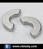NdFeB semicircle magnet for electric motors