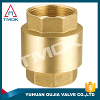 """1/4"""" pvdf check valve cw617n material and forged polishing water pump brass body DN 15 with ppr CE approved long handle with"""