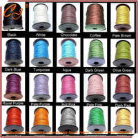 Hotselling Korean Wax Cord Round for Diy Braclet Making , Waxed Cord Thread 1.5mm