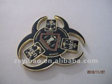 2012 US army lapel pin with epoxy in two sides
