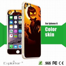 for apple iphone 6 skin oem,for iphone6 plus gold skin