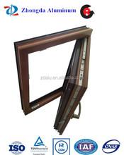 Aluminium Broken bridge casement window