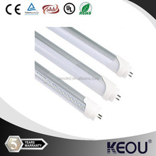 clear and milky cover led tube 600mm 6500/7000/5500/5000/4500/4000/2700/3500/6000/3000k ODM OEM 5 years warranty