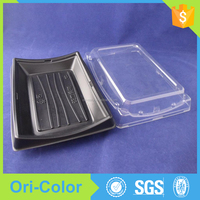 Disposable portable Plastic Sushi Takeaway Food lunch box Container