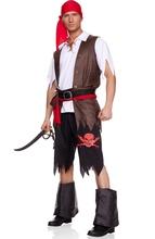 swashbuckling pirata disfraz de hombres