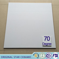 SUPER WHITE 70 Degree POLISHED PORCELAINTILE HIGH QUALITY