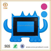 Monster Series Kids Safety Protective Rubber Cover Cases for iPad 4