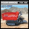 BY1000 construction truck 1.5 Ton Heavy Duty Dumper