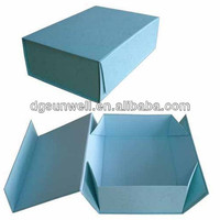 High Quality paper folding box gifs package save space shipping costs