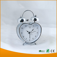 Promotion Clock HSD A0045 Bell Table Clock Metal Alarm Clock