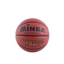 top quality pure cow leather basketball