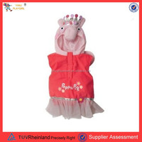 PGCC-1406 warm pink pig costume for toddle girl carnival costume