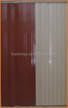 F004 The most Popular Cheap PVC Folding Door/ Plastic Accordion Door