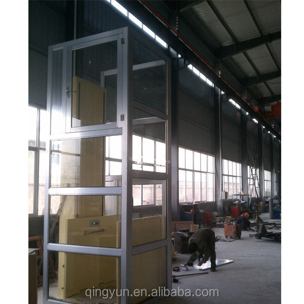Outdoor or indoor use hydraulic home lift buy small home for Indoor elevator