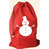 easy carrying fashional christmas gift shopping drawstring bag