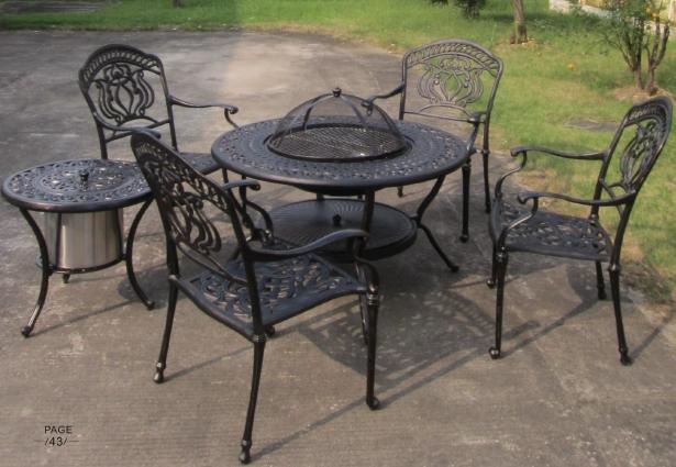 Utilisé en plein air meubles de jardin importation Plein air coréenne barbec