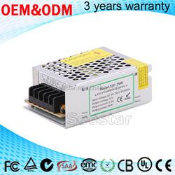 SEESTAR THA-12V60W DC 12v 5A 60w led power supply high pf CE passed switch power supply