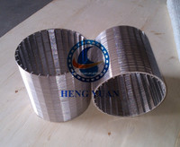 Professional Stainless Steel Cylinder Wire Mesh Filter/ Johnson Wedge Wire Fliter Screens