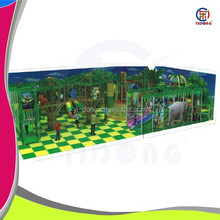 Children attraction used indoor playground equipment sale with special design