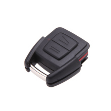 2 Buttons Remote Car Key Shell for Vauxhall Opel Astra Zafira Omega Vectra No Chip Uncut Blade Car Key Case Flip Fob Car Cover
