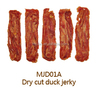 free additive natural meat dry cut duck jerky pet food