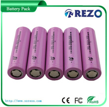 IMR 18650 3.7V 2600mAh rechargeable battery voltage AA size li-ion rechargeable battery