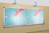 Riotouch electronic whiteboard for different level classroom
