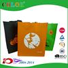 2016 Creative desgin Halloween colorful non woven shopping bag
