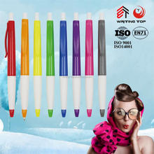 International click plastic ball pen