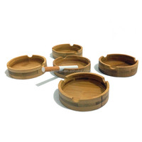 Wholesale Small Christmas Ornament Wooden Craft,Wooden Ashtray