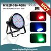 Indoor RGBA par can stage light led power supply dmx led flood light