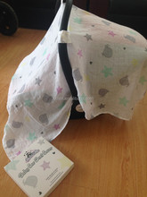 100% Cotton Muslin Supper Soft Baby Canopy Cover