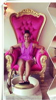pink salon chairs /Beauty Salon Chair /Nail salon chair for sale