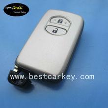 Good price smart key cover for Toyota smart key Toyota land cruiser smart key