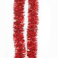 PET/PVC cheap wholesale artificial tinsel garland flowers artificial velvet poinsettia Christmas tinsel