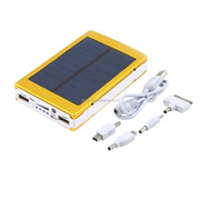 Hot sale 30000mAh Solar Power Bank Backup Battery Solar Charger for GPS MP3 PDA